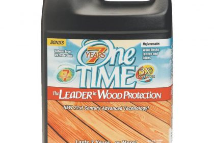 One TIME Wood Protector