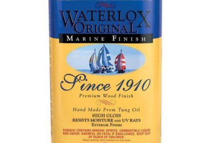 Waterlox Marine Finish