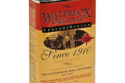 Waterlox Sealer Finish